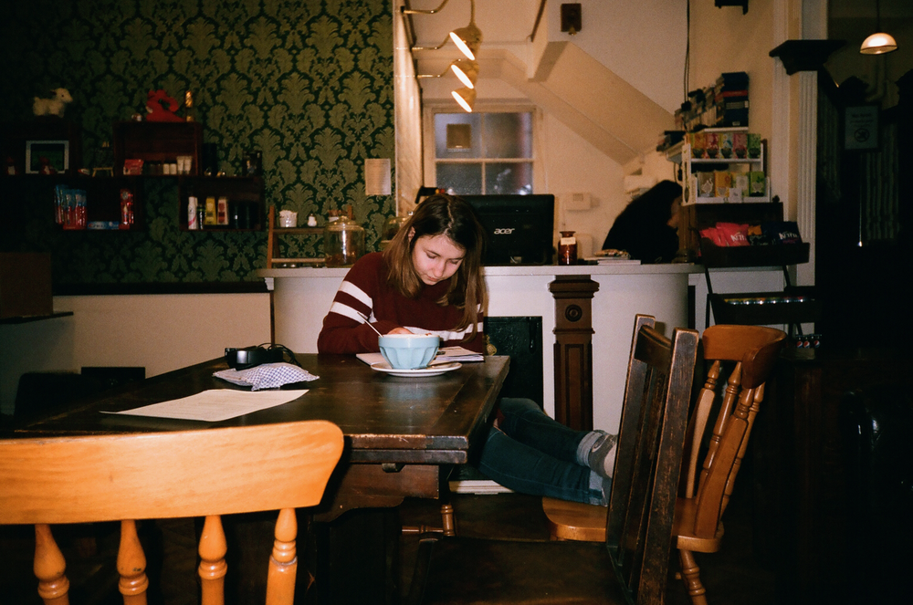 French Girl In A Welch Hostel