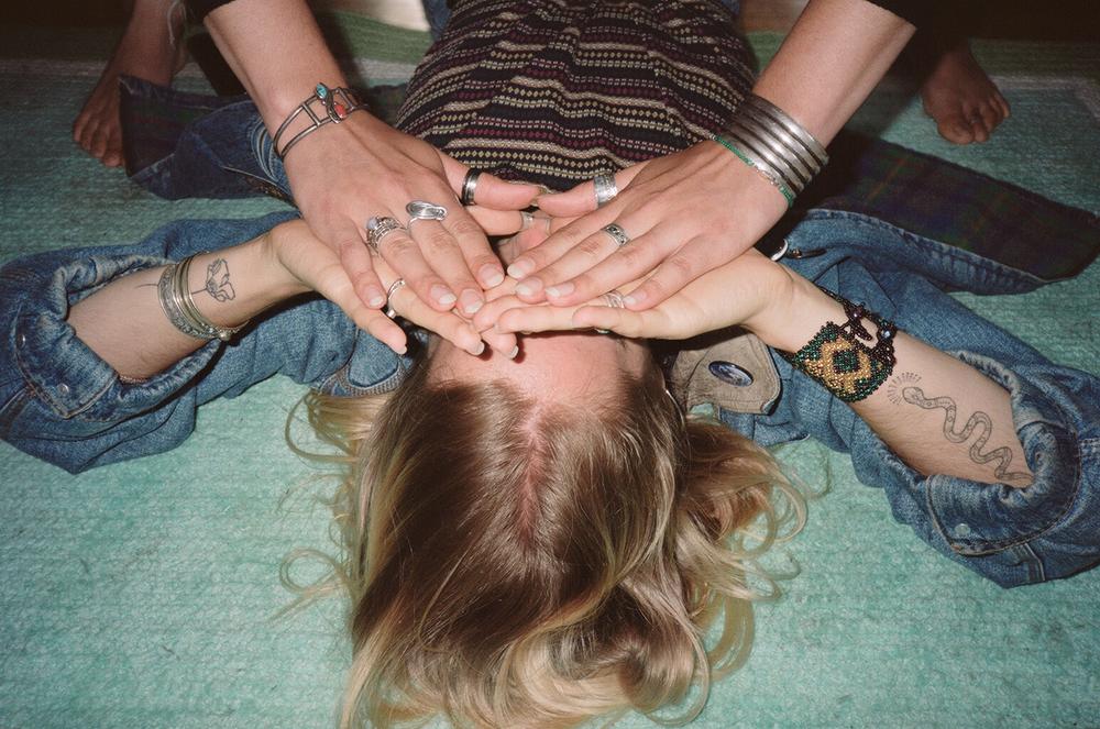 Caroline Bradley: Hands On Eyes