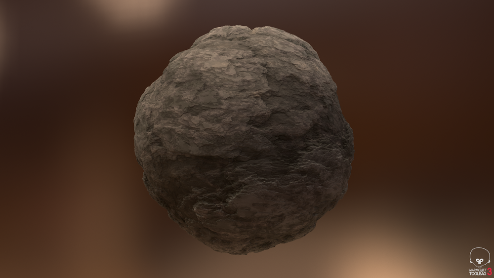 Weathered Shale Rock (Dusty)