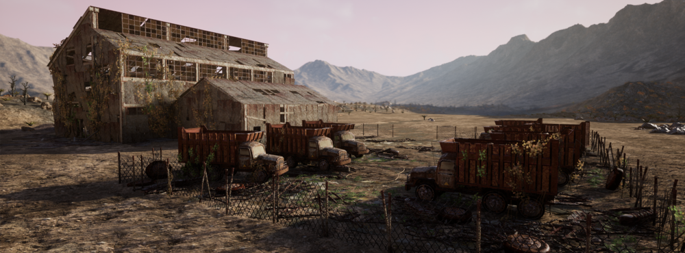 Desert warehouse -