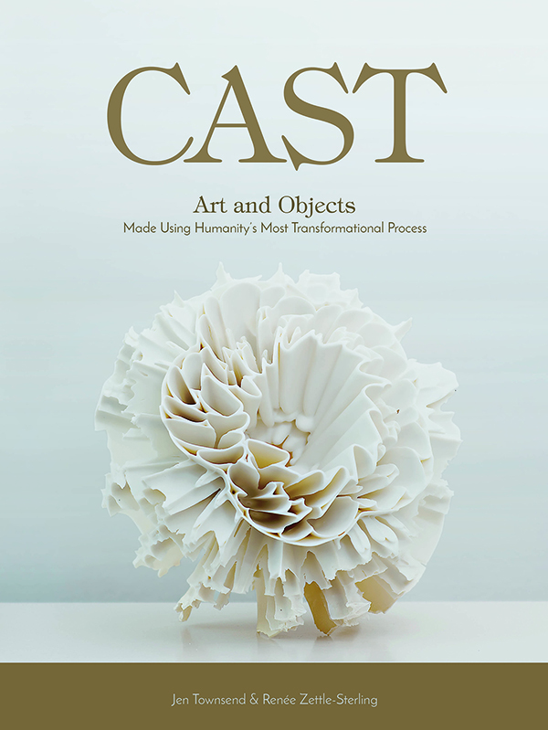 "On cover, work by Zsolt József Simon, Untitled, 2012. Porcelain, no glaze, 13.75"" × 13.75"" × 9.5"".Photo: Stephen Papandropoulos."