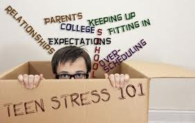 stress teens