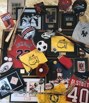 Memorabilia to Last a Lifetime   - As one of the larger providers of authentic sports/celebrity memorabilia to the silent/live auction portions of charity events nationwide, Memorabilia Magic has the ability and know-how to custom design items unique to your event.