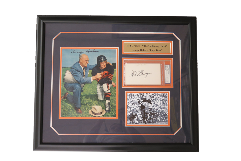 Red Grange/ George Halas