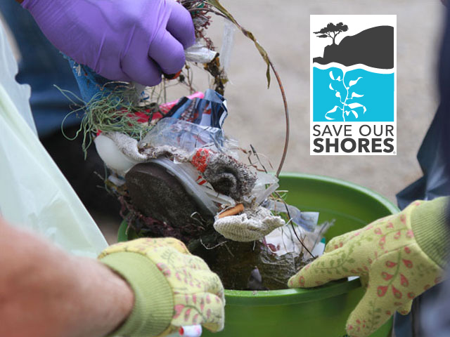 Beach Cleanup - 11:30-1:30 Coordinated by Save Our Shores with support from Dream Inn. All are welcome and encouraged to join the cleanup.