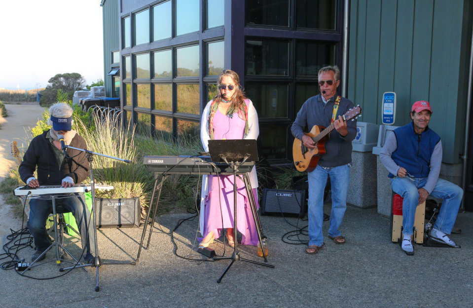 The Wavetones - 2:30-4:00 Live music to accompany the beach vibe.