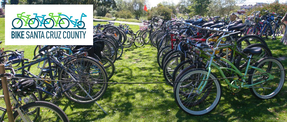 Bike Valet - 1:00-4:00 Event attendees are encouraged to use human powered alternative transportation. Bike Santa Cruz County will be on-site to provide FREE, secure valet bike parking for your two wheels.