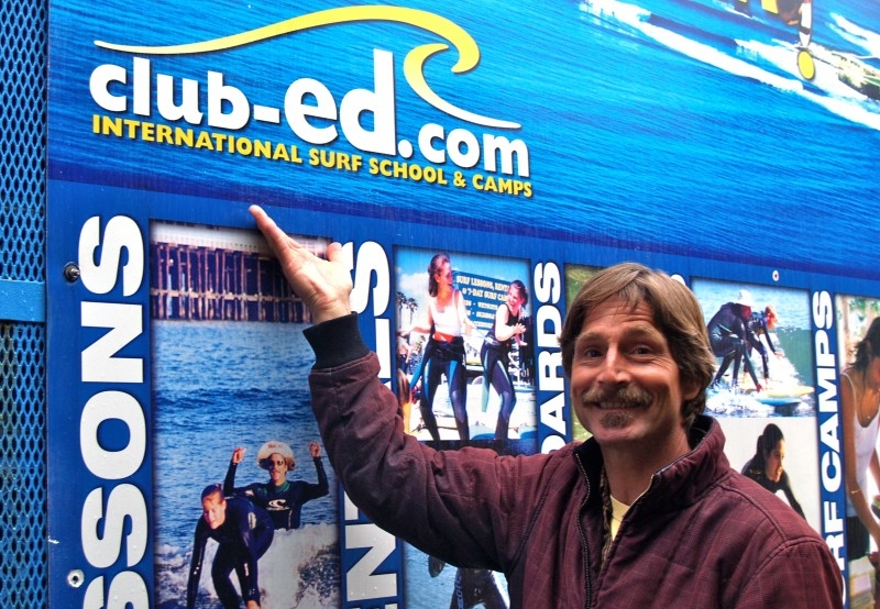 Club Ed - Surf lessons and board rentals on Cowell Beach. Reservations requested.