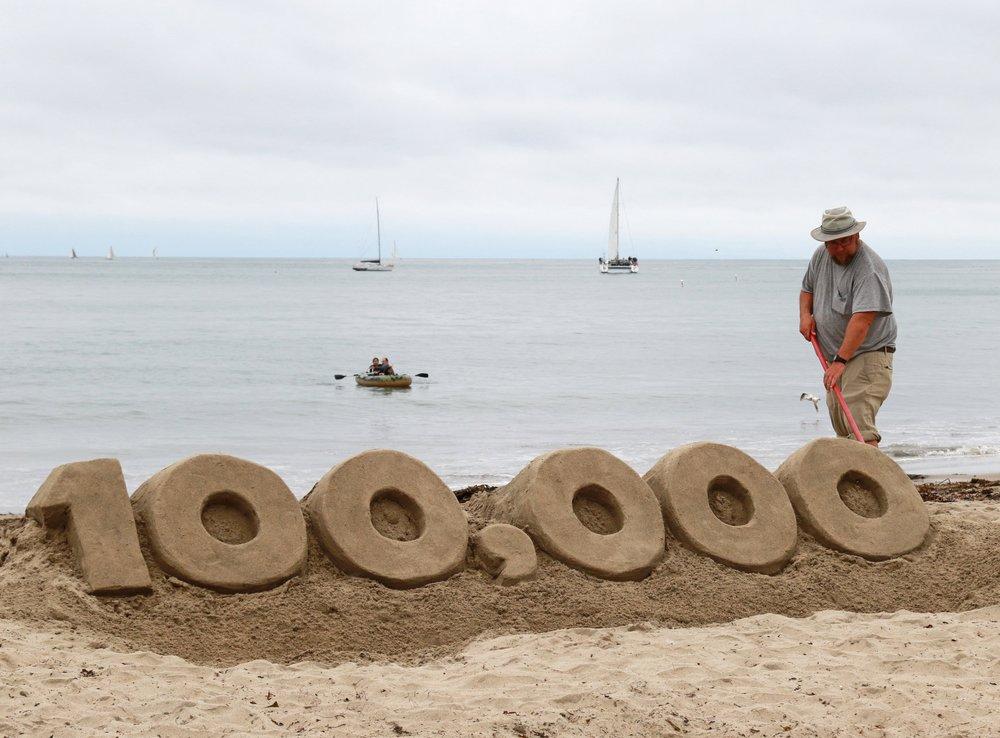 Santa Cruz Sand man, Bill Lewis.