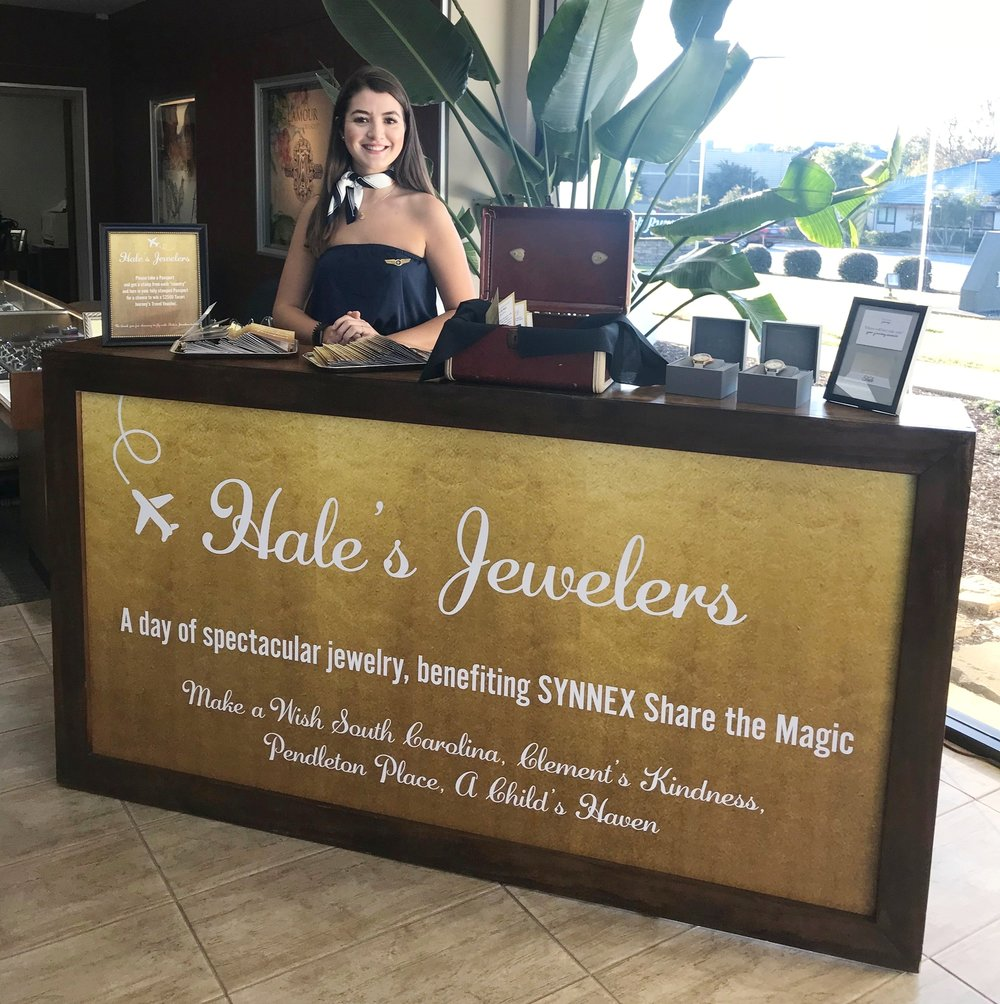 - In the situation where marketing firms and event agencies have outsourced to me, I have worked with Hale's Jewelers, Library Kitchen and Bar, Highlands Food and Wine Festival, Dress Like a Local, CB Events, and more.