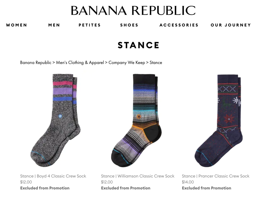 Gap Inc sells Stance.png