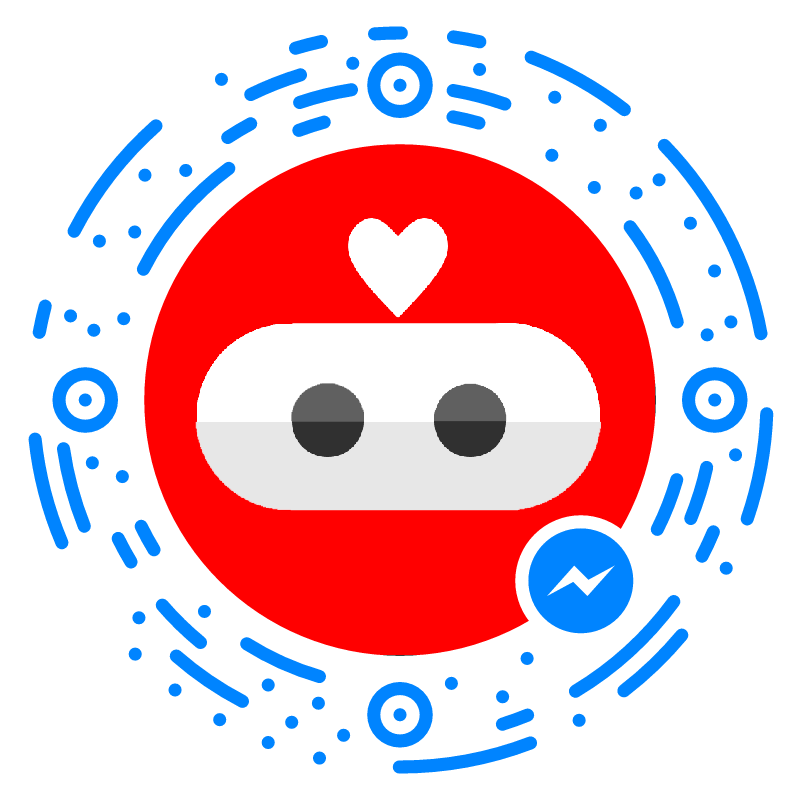 - Scan the code with Facebook Messenger to start chatting to SEB.