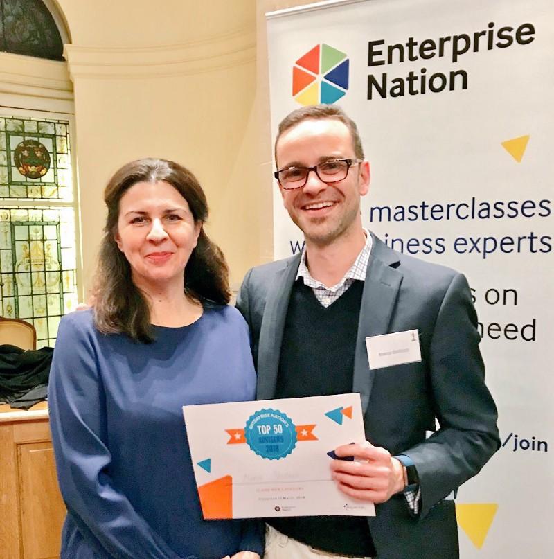 With Emma Jones MBE, founder of Enterprise Nation