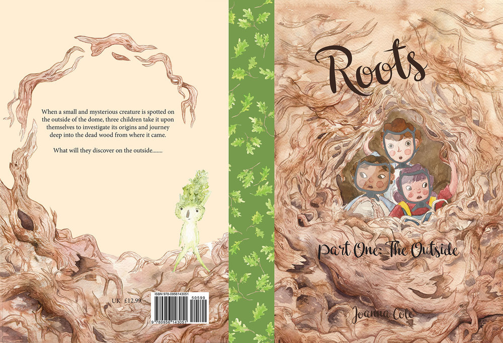 Book jacket for Roots, Part One: The Outside