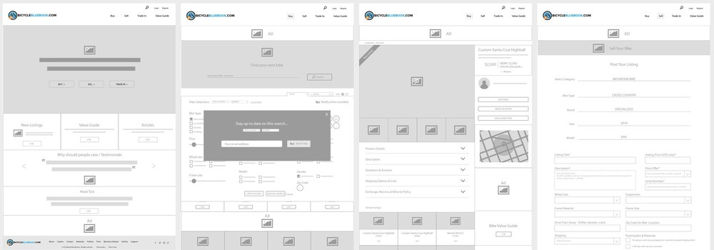 We worked together to create the structure for this site. Once IA was approved, we moved to UX, creating the site story & logic. Wireframes help ensure that the client goals for each page and the overall site, are addressed. When we get into design, there are no surprises when the site structure is determined beforehand.
