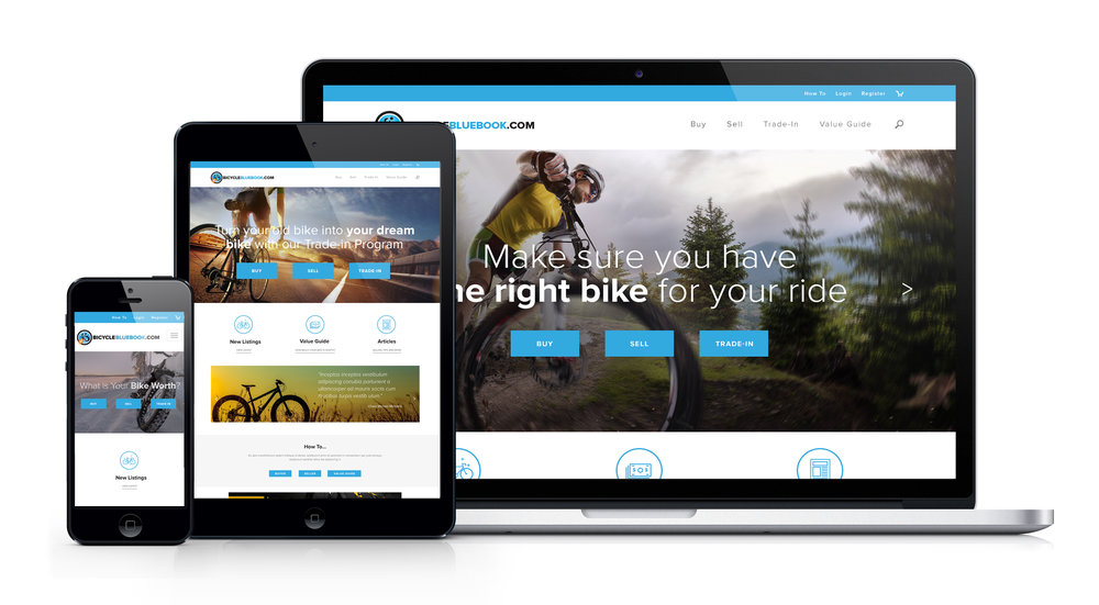 This site was designed to be fully responsive.