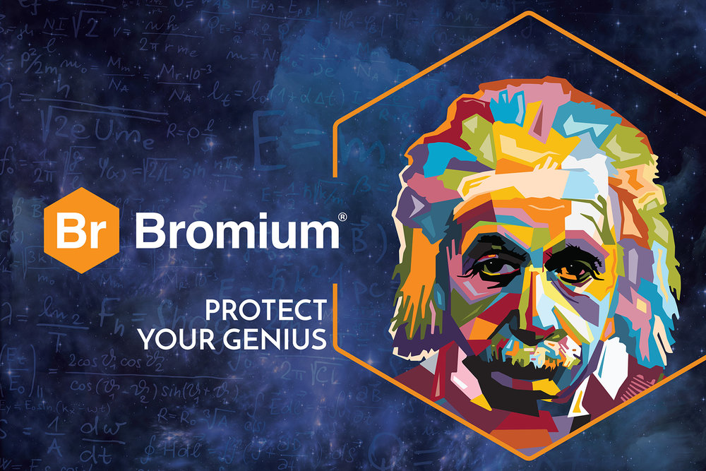 Tradeshow Graphic > Protect Your Genius