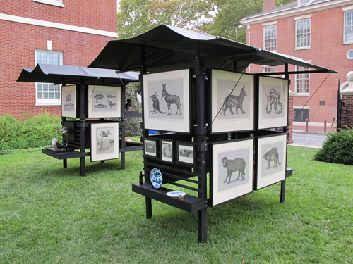 Association for Creative Zoology Kiosks , 2010 Beauvais Lyons