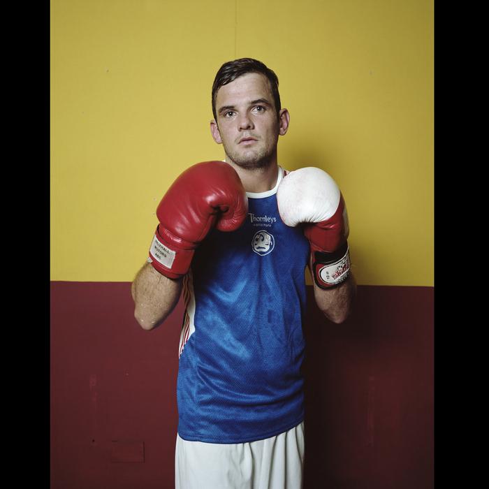 Alex at Boxing Club , 2012
