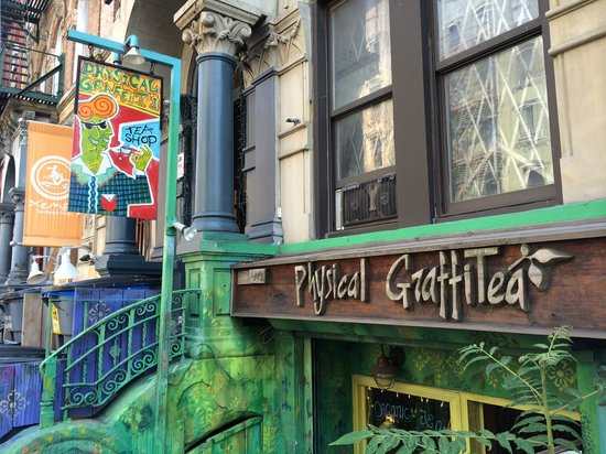 Physical GraffiTea: 96 St Marks Pl, New York, NY 10009