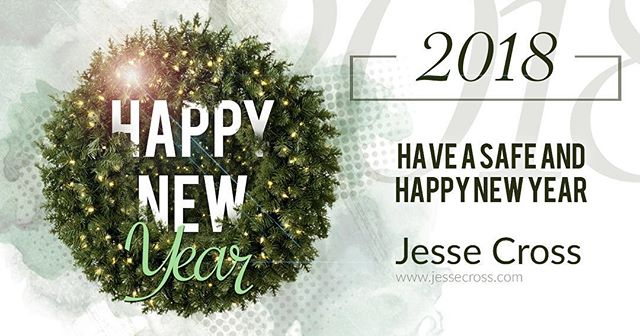 2017 has been an interesting year. Some new clients, old friends, creative ideas shared and lots of learning. Excited to carry that over to 2018. Everyone have a safe and exciting New Years Eve. • • • #jessecross #jessecrossmedia #adobe #graphic #graphicdesign #design #art #aftereffects #artist #artoftheday #artwork #brand #branding #creative #creatives #designers #digitalart #draw #font #graphic #graphicart #identity #indesign #illustration #illustrator #marketing #photoshop #pixels #premiere #vector • • •