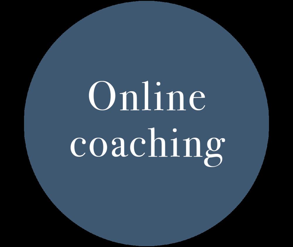 Online Coaching Information