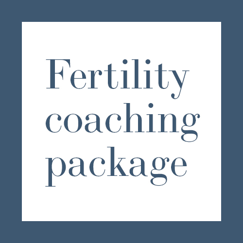 Fertility Coaching Package Information