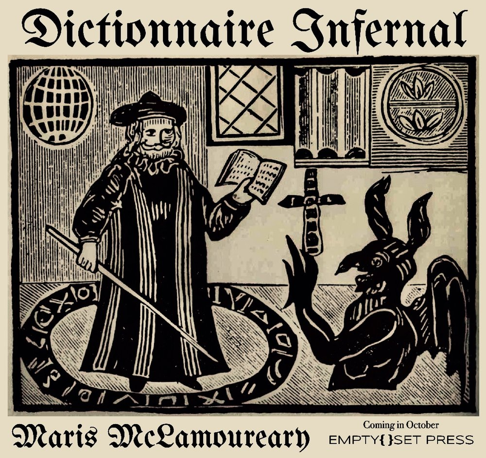 Maris McLamoureary's DICTIONNAIRE INFERNAL , by Chris McCreary & Mark Lamoureux (October, 2017)