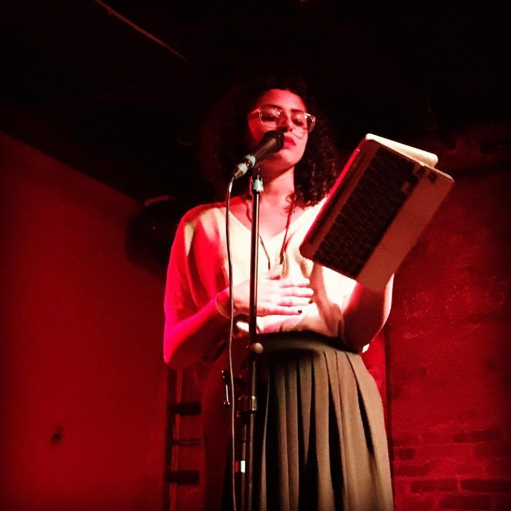 Angela Gervasi Interviews Maryan Captan @ YallaPunk Festival Poetry & Comedy Showcase -