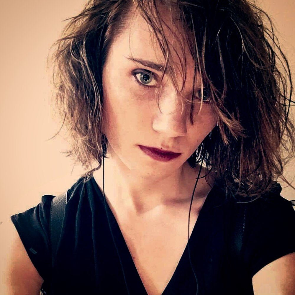 Faye Chevalier - FAYE CHEVALIER is a queer Philadelphia-based poet and essayist. Her debut chapbook, future.txt, is forthcoming from Empty Set Press in Fall 2018, and her work has been featured in Peach Mag, Witch Craft Magazine, the Horse Less Review, the tiny, Bedfellows, and elsewhere. Find her on Twitter where she cries about cyborgs, vampires, and having a body at @bratcore.