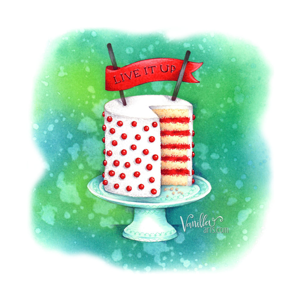 January 2018- Layer Cake