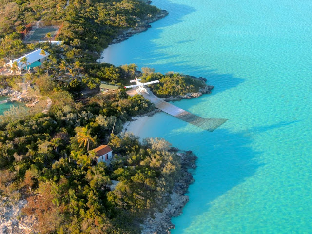 Pigeon Cay - Seaplane ramp source:out island flyers