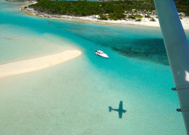 Sandbar at Saddleback Cay source:out island flyers