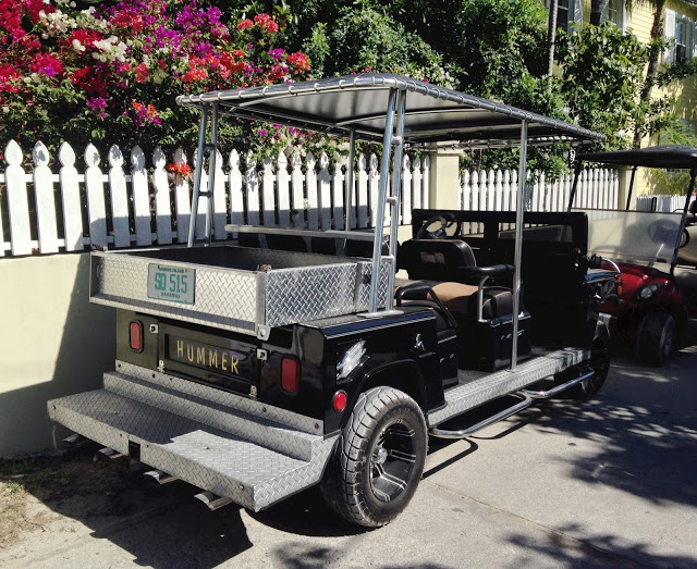 The Utilitarian Hummer/Golf Cart Hybrid