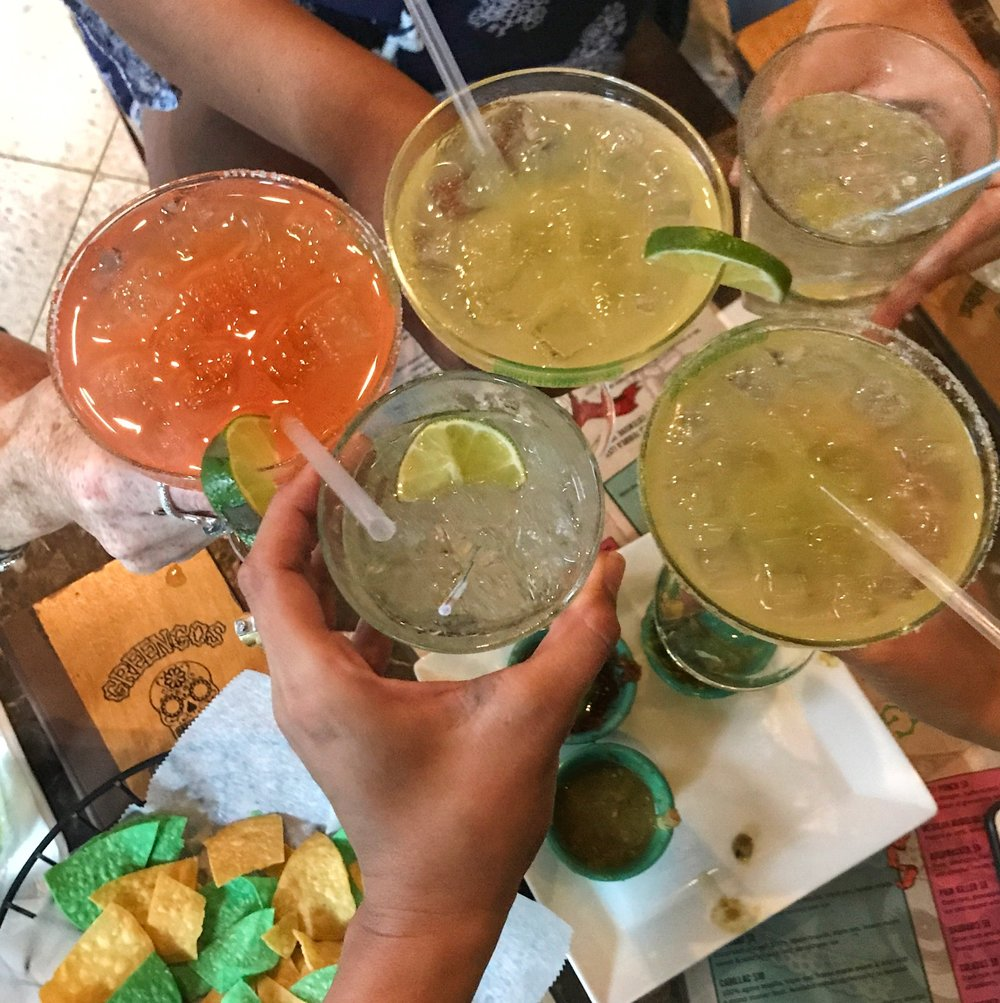 Margaritas have an amazing ability to break the ice