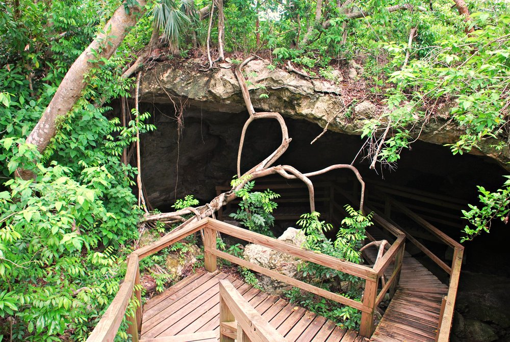 Ben's Cave, part of the Lucayan cavern system