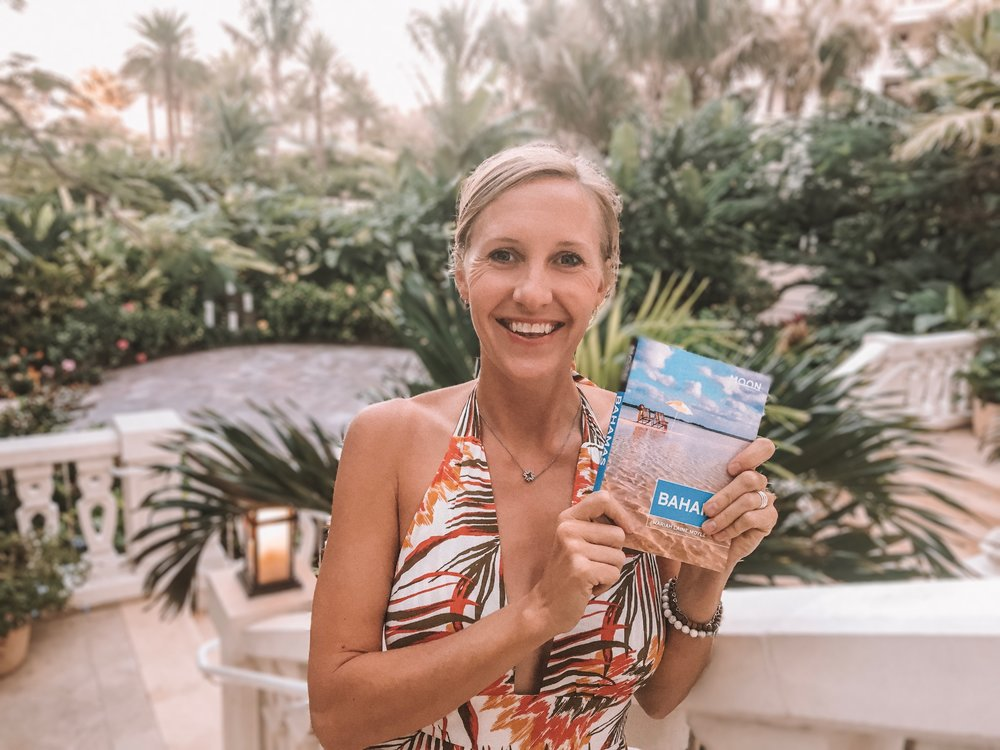 Writing - Author of Moon Bahamas travel guidebook, as well as countless articles and blog posts. Her writing showcases her love for the Bahamas, and for self-care, personal development, health & well-being.