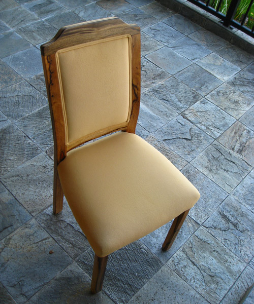 Black Limba Chair