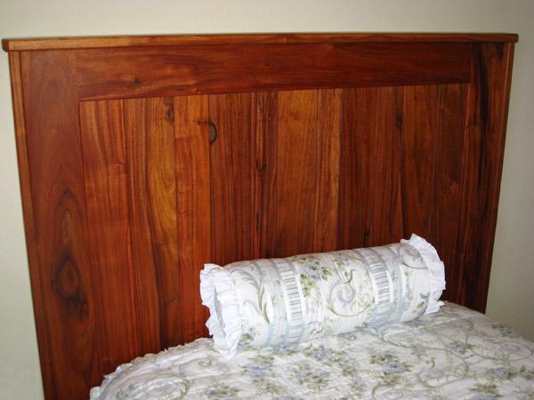 Monkey Wood Headboard