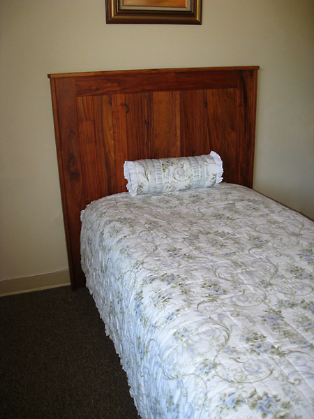 Monkey Wood Headboard