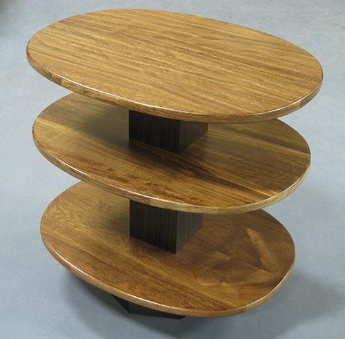 "End Table - Chechan & Asian Ebony. 19 1/2"" wide x 26"" deep x 24"" high"