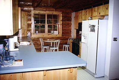 Rustic Pine Kitchen