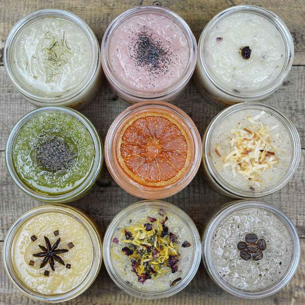 Sugar Body Scrubs -