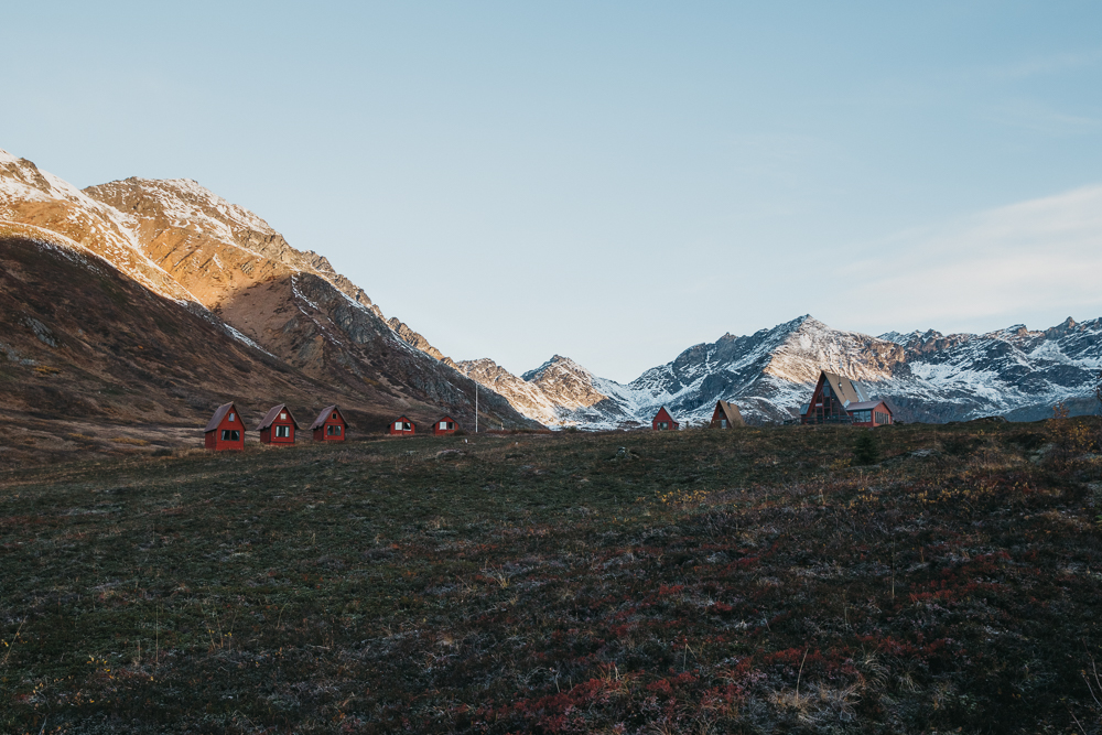 Currently it is a recreational playground which also includes the Independence Mine State Historic Park. You can stay at one of these red cabins as well for a more authentic experience.