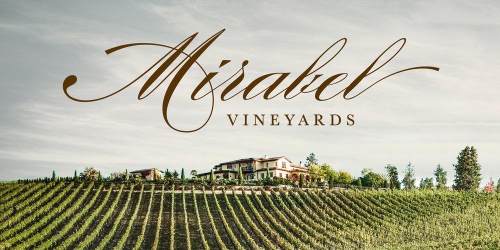 Mirabel Vineyards Branding - logo