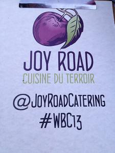 @JoyRoadCatering #WBC13