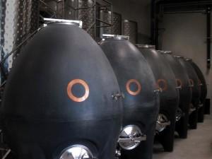 OCP original concrete fermenters