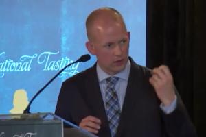 Panel moderator Ben MacPhee Sigurdson