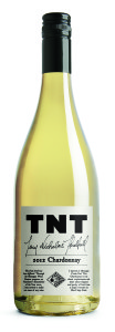 The TNT Chardonnay is released from Okanagan Crush Pad.