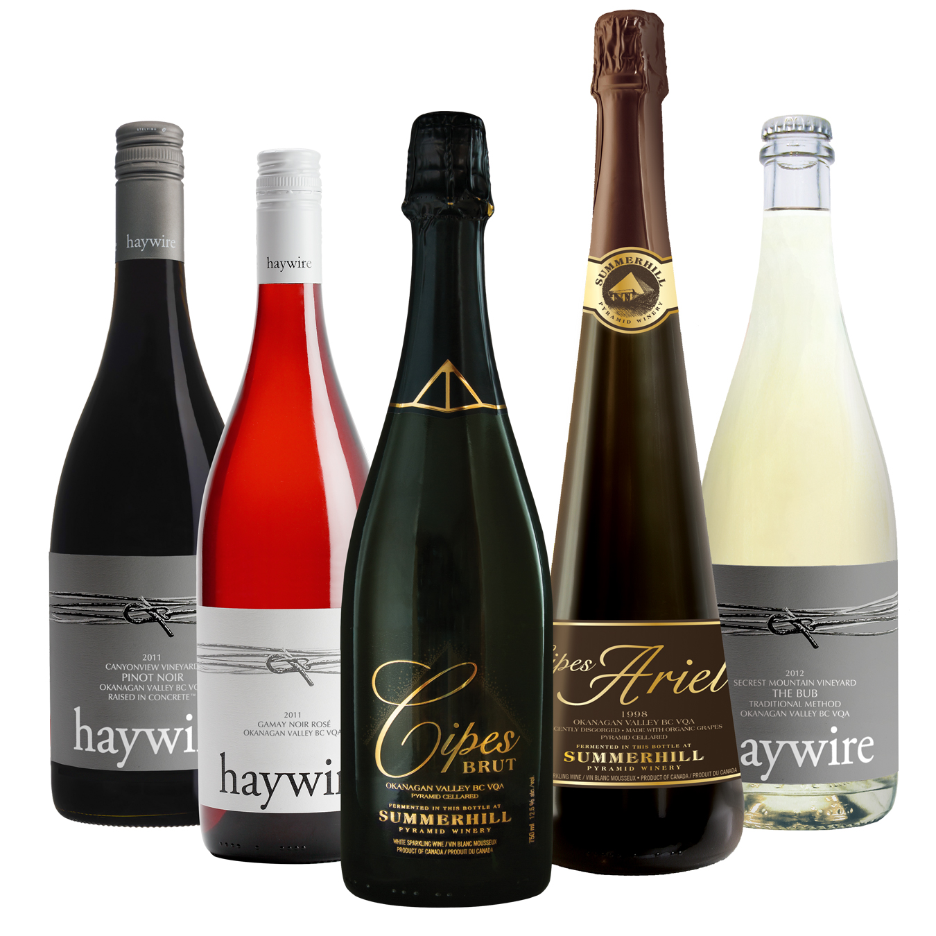 Haywire and Summerhill will showcase their wines